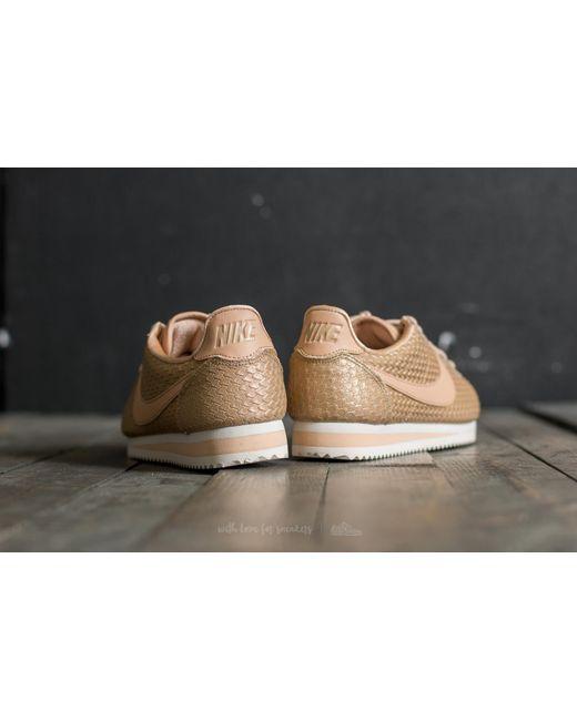 Lyst Nike Wmns Classic Cortez Se Blur/ Bio Beige light Orewood
