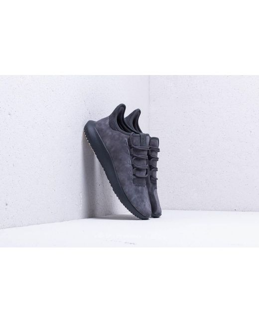 reputable site 45dbb dbd9d Adidas Originals - Gray Adidas Tubular Shadow Carbon Carbon Chalk White  for Men ...