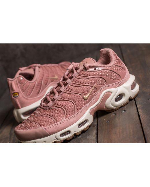 ... Nike - Wmns Air Max Plus Particle Pink/ Mushroom-sail - Lyst ...