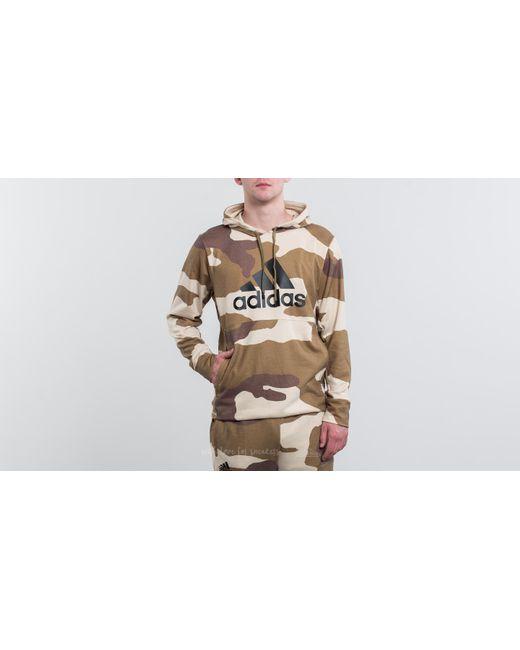 Adidas Originals - Natural Adidas X Undefeated Tec Hoodie Dune/ Tactile Khaki/ Base Khaki for Men - Lyst