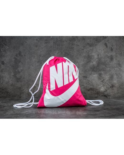 Nike | Heritage Gymsack Pink | Lyst