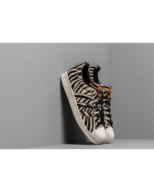 huge selection of 2689b 19888 Adidas Originals - Adidas Superstar W Core Black  Off White  Core Purple -  Lyst ...