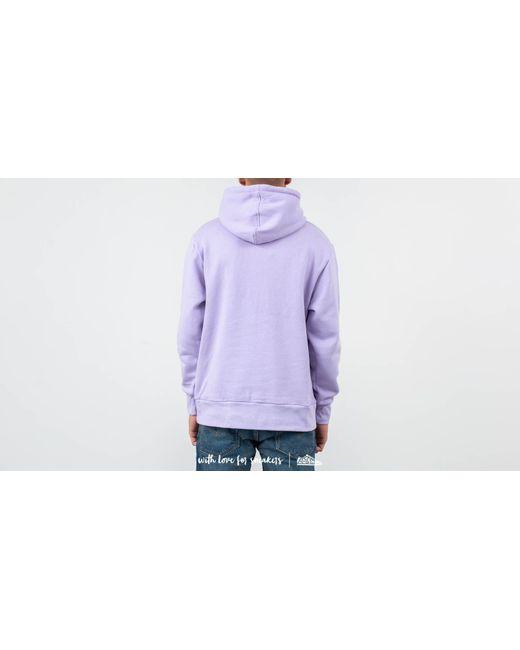 8532ff4461587 ... Footshop - Purple Ripndip Rubber Logo Hoodie Lavender for Men - Lyst ...