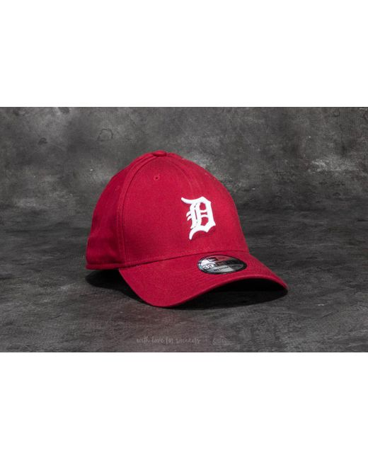 KTZ - Red 39thirty Washed Detroit Tigers Cap Scarlet for Men - Lyst