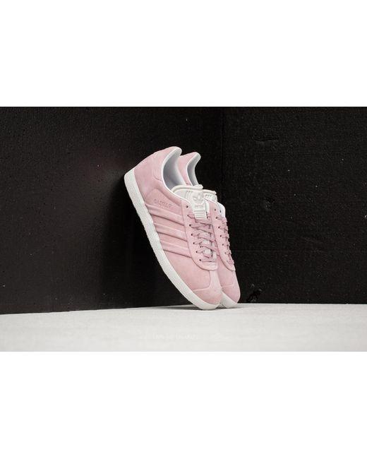 Lyst adidas originali adidas gazzella stitch e w. pink