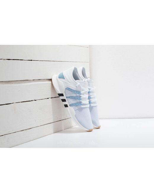 lyst adidas originali adidas eqt racing avanzata w ftw bianco / ash blu