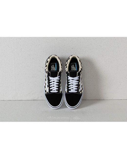df9752dcd7e4bc ... Vans - Old Skool Lite (checkerboard) Black  White for Men - Lyst ...