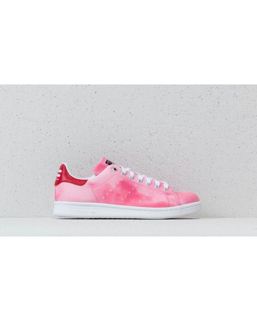 cfa428dc16708 ... Adidas - Pink Adidas X Pharrell Williams Hu Holi Stan Smith Ftw White   Ftw White ...