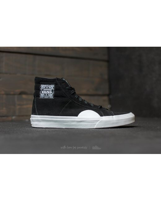 ... Vans - Style 238 (native Suede) Black/ White for Men - Lyst ...