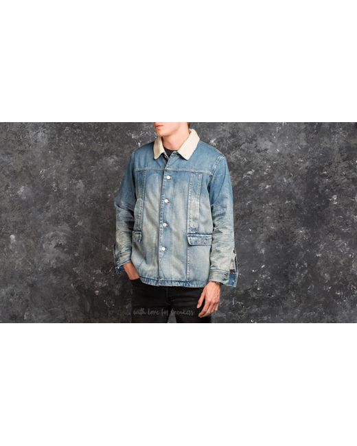 Stampd - Blue Denim Jacket - Lyst