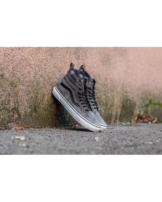 Vans - Multicolor Sk8-hi Mte (mte) Pewter/ Plaid for Men - Lyst