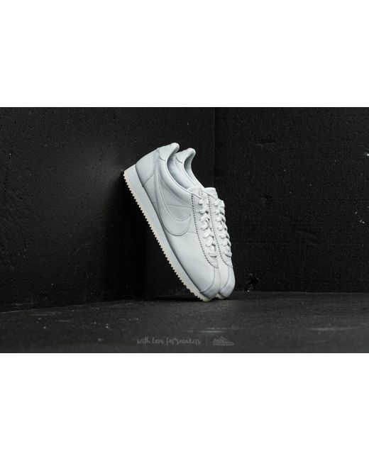 b465b1f27ee0 ... huge selection of c92d3 807af Nike - Classic Cortez Premium Off White  Off White-black  biggest discount 70ccf c51ee Nike - Cortez Se Leather -  Lyst ...