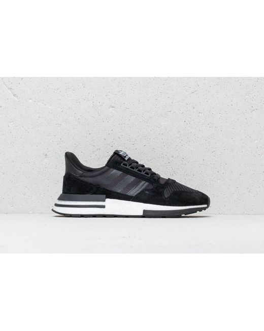 quality design 90805 05b00 ... Adidas Originals - Adidas Zx 500 Rm Core Black Ftw White Core Black  for ...