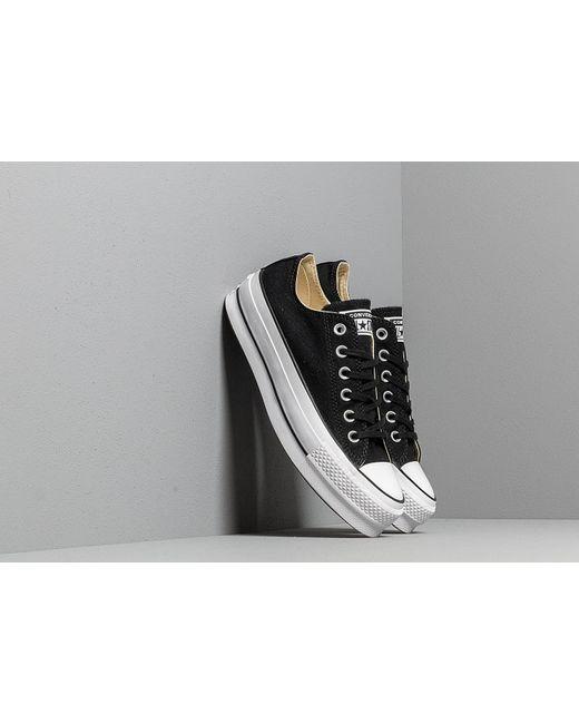 da98966f74ba Lyst - Converse Chuck Taylor All Star Lift Black  White  White in ...