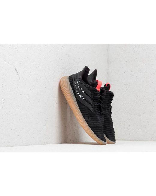 los angeles fa7da 9b4ce Adidas Originals - Adidas Sobakov Core Black  Core Black  Flared for Men -  Lyst ...