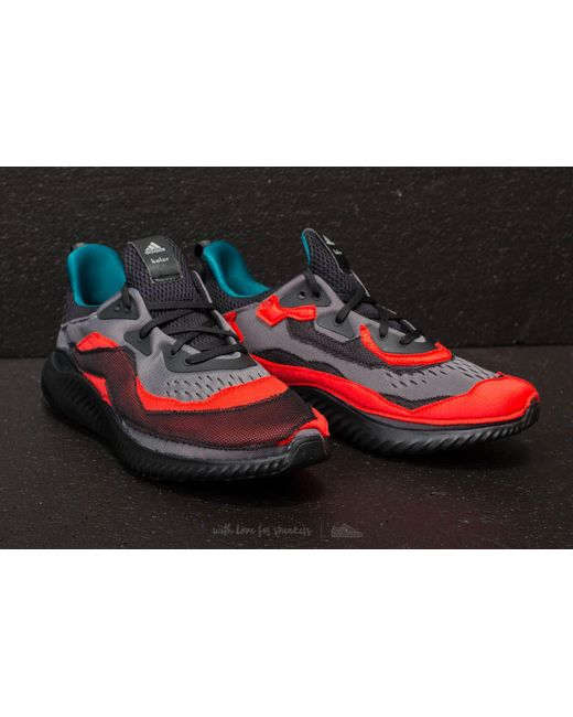 adidas Adidas Alphabounce (kolor) Core / Grey Two/ Hi-Res Red ds95NL
