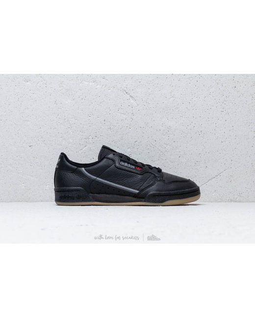 official photos f2d80 96802 ... Adidas Originals - Gray Adidas Continental 80 Core Black Grethr Gum  for Men ...