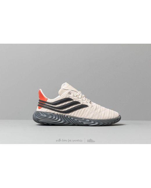 best service bb5ae 18f24 ... Adidas Originals - Adidas Sobakov Off White Core Black Rawamb for Men  - Lyst ...
