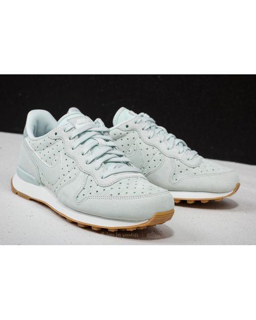 ... Nike - Gray W Internationalist Premium Barely Grey/ Barely Grey - Lyst