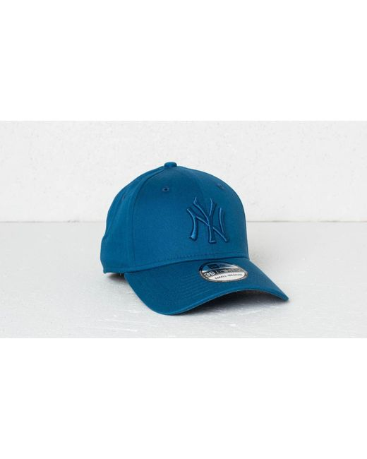 timeless design ca4e6 d63ef KTZ - 39thirty Mlb League Essential New York Yankees Cap Blue - Lyst ...