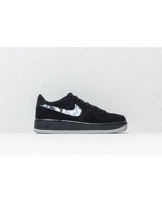 b2559750662 Lyst - Nike Air Force 1 (gs) Black  Wolf Grey-dark Grey in Gray for ...
