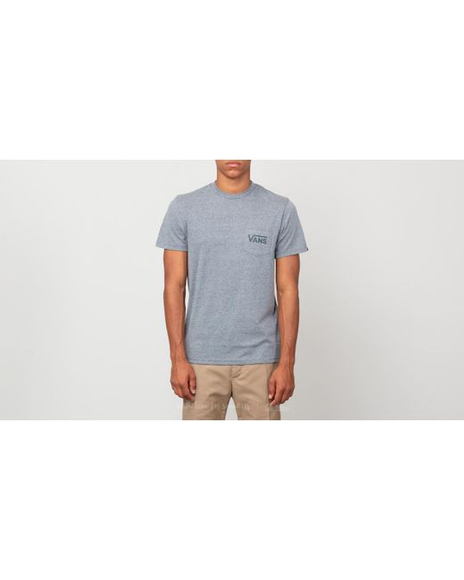 Vans - Gray Off The Wall Classic Tee Heather Grey/ Darkest Spruce for Men - Lyst