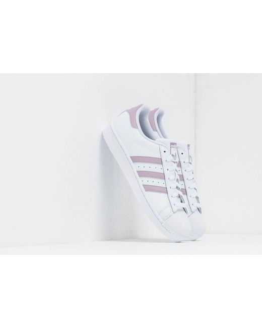 official photos 43038 00774 Adidas Originals - Adidas Superstar W Ftw White  Sofvis  Core Black - Lyst  ...