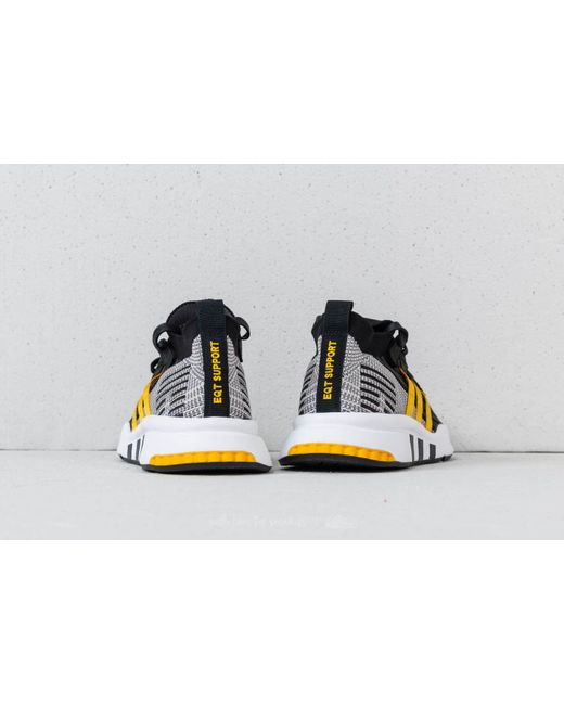 adidas Adidas EQT Support Mid ADV Primeknit Core / Eqt Yellow/ Ftw White 91Um1An