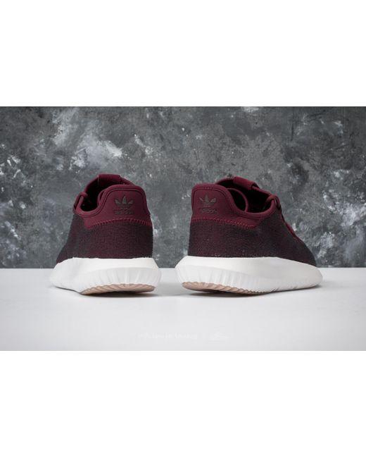 Lyst adidas Originals Adidas tubular gris sombra MAROON / vapor