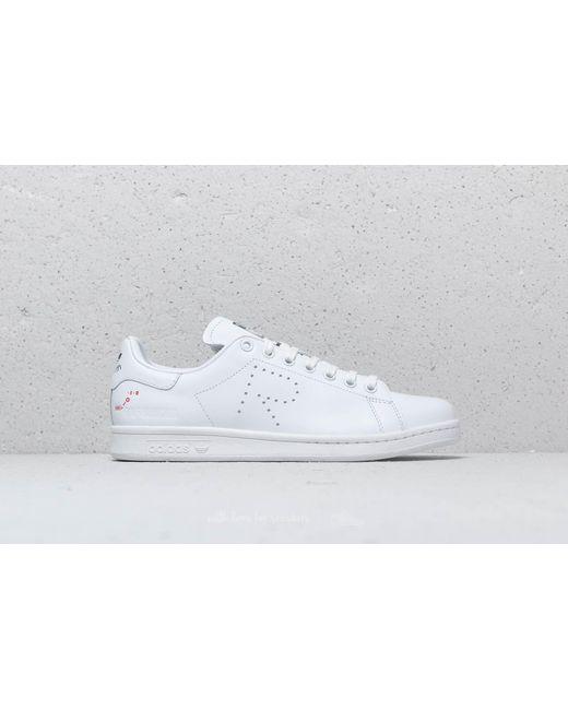 fe5e36c8a50d ... Adidas By Raf Simons - Adidas X Raf Simons Stan Smith Ftw White  Cream  White ...