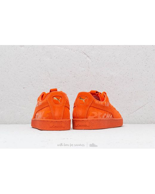 ... PUMA - Orange X Atelier New Regime Suede Scarlet Ibis  Scarlet Ibis for  Men ... c6555de1b