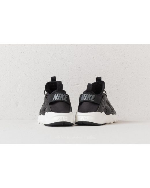 AIR HUARACHE RUN ULTRA - Sneaker low - light pumice/sand/sail/black 26KhEuUduu