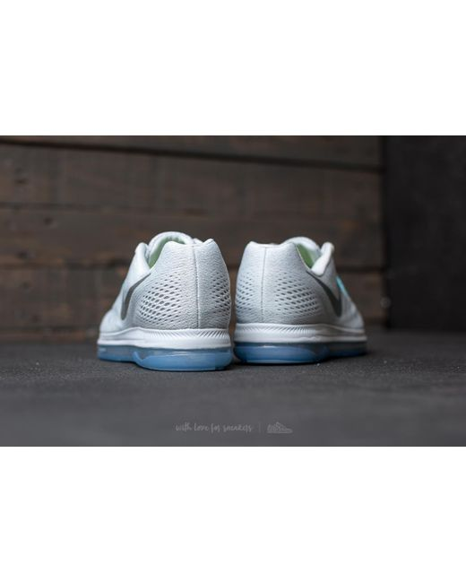 ... Nike - Multicolor Wmns Zoom All Out Low Pure Platinum/ Chrome - Lyst ...