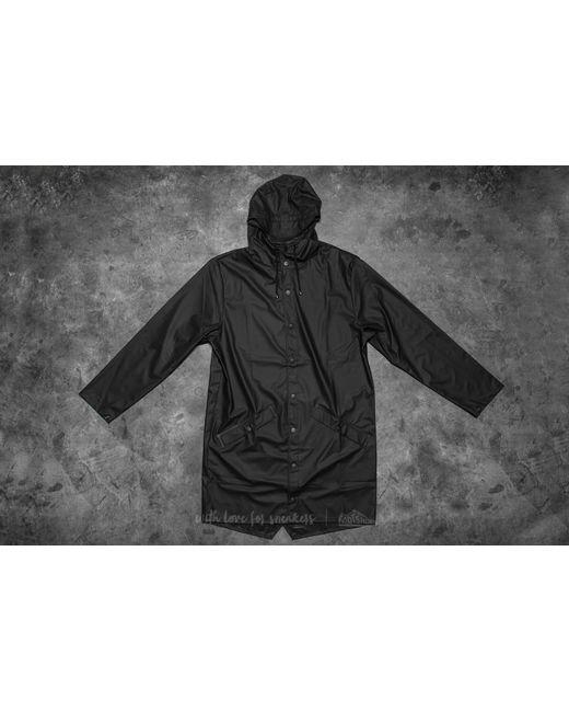 Rains - Long Jacket Black for Men - Lyst
