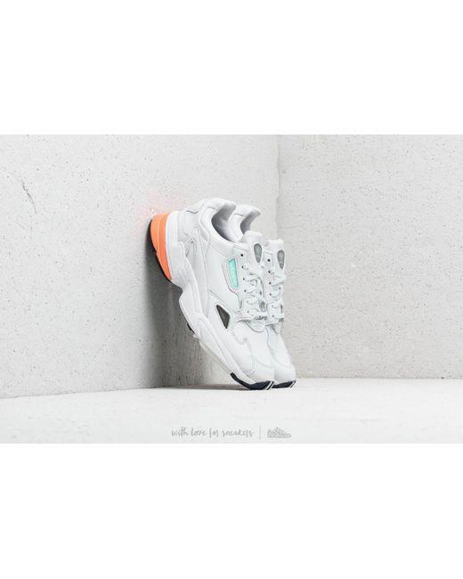 8dbd2ce61352 Adidas Originals - Adidas Falcon W Crystal White  Crystal White  Easy  Orange - Lyst ...