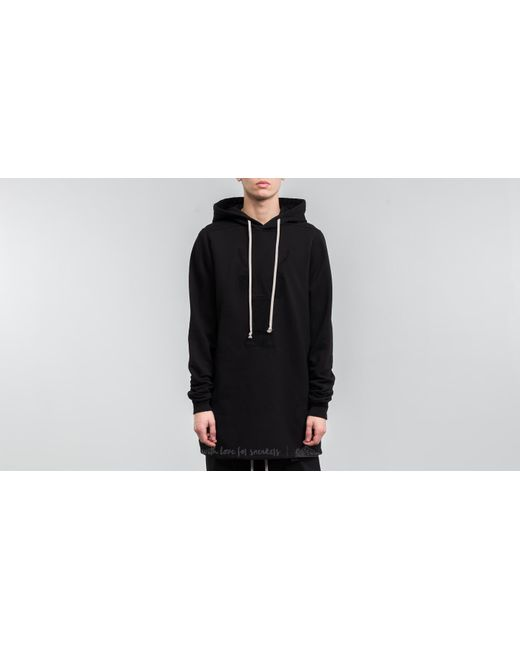 Footshop - Rick Owens Drkshdw Pullover Hoodie Black for Men - Lyst
