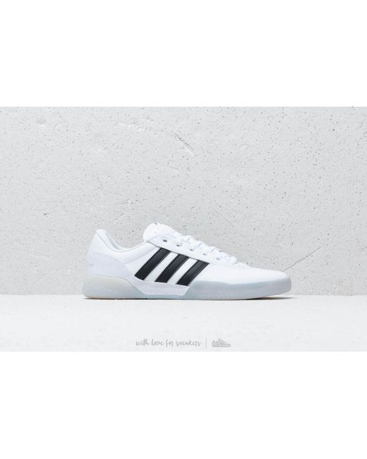 ... Adidas Originals - Adidas City Cup Ftw White  Core Black  Light Solid  Grey for ... 4a2c38eeb