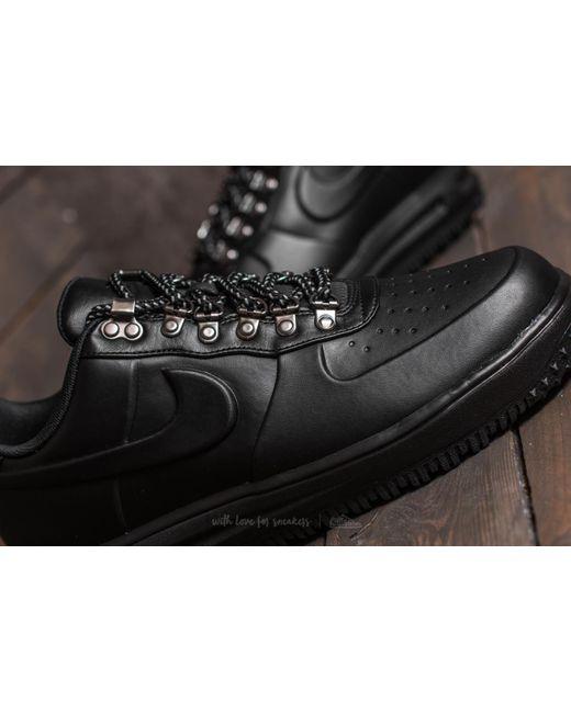 low priced 31d7c ed91a ... HIGH 2016 Z PL Nike - Lunar Force 1 Duckboot Low Black Black-black for  Men . ...