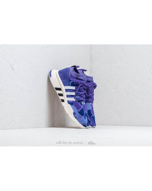 3850fa81e6e5 Adidas Originals - Adidas Eqt Support Mid Adv Primeknit Purple  Energy Ink  Core  Black ...