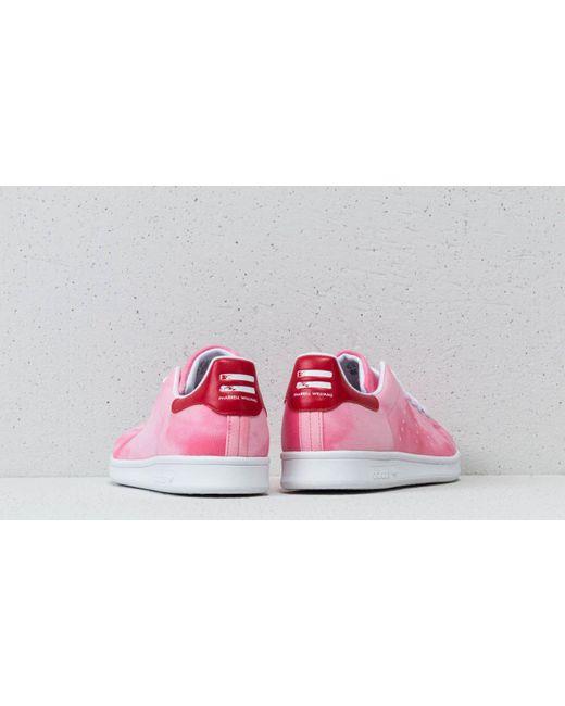 e683e7bc0 ... Adidas - Pink Adidas X Pharrell Williams Hu Holi Stan Smith Ftw White   Ftw White ...