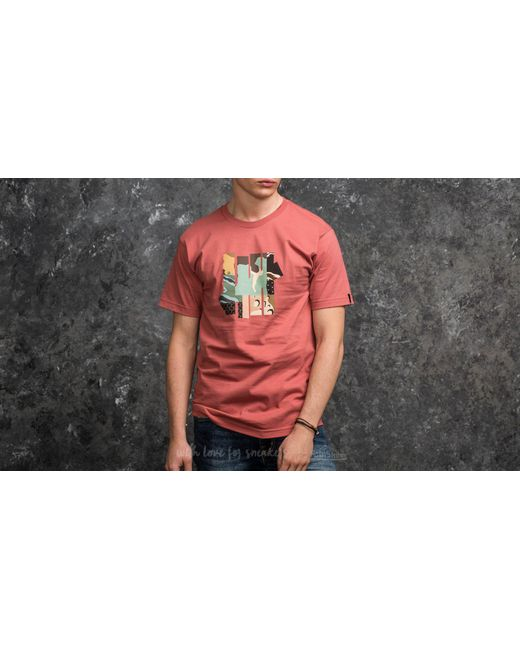 Footshop   Multicolor Undefeated Patchwork Strike Tee Rose for Men   Lyst