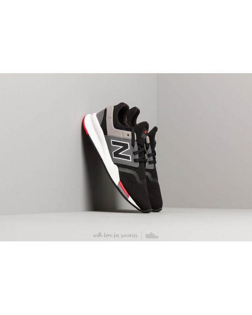 090c0050a1191 New Balance - Multicolor 247 Black/ Grey/ White for Men - Lyst ...