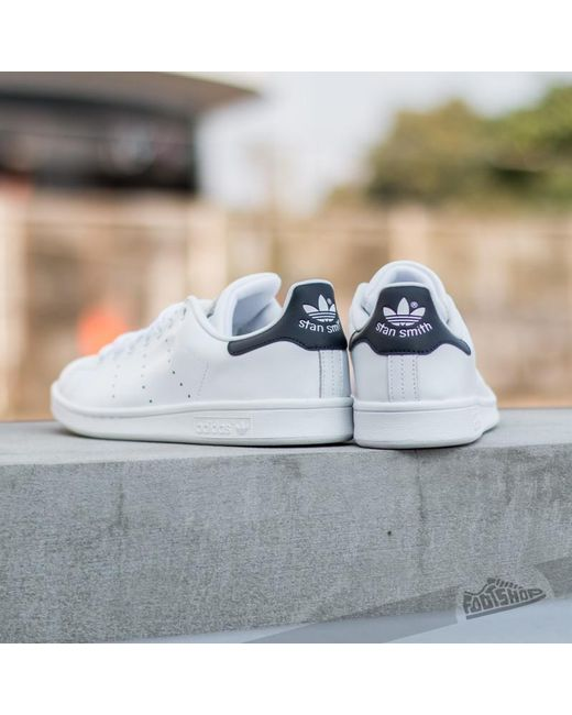 05fbd0c2e433 ... Adidas Originals - Blue Adidas Stan Smith Running White new Navy for  Men - Lyst ...