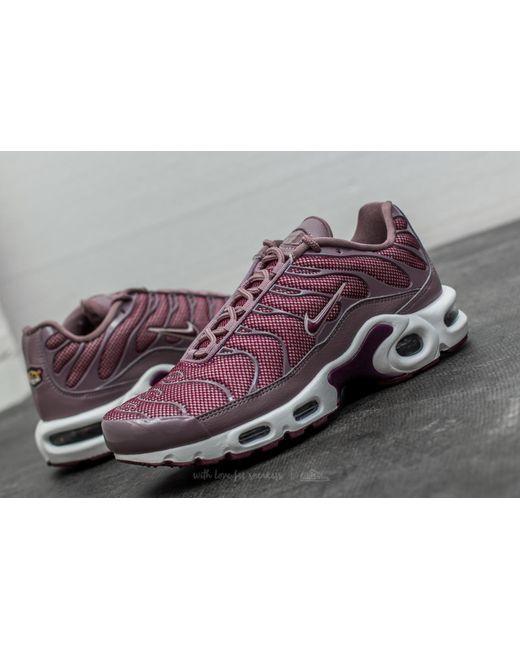 449c63ddf3d7 Nike Multicolor Wmns Air Max Plus Taupe Grey Bordeaux-silt Red Lyst ...
