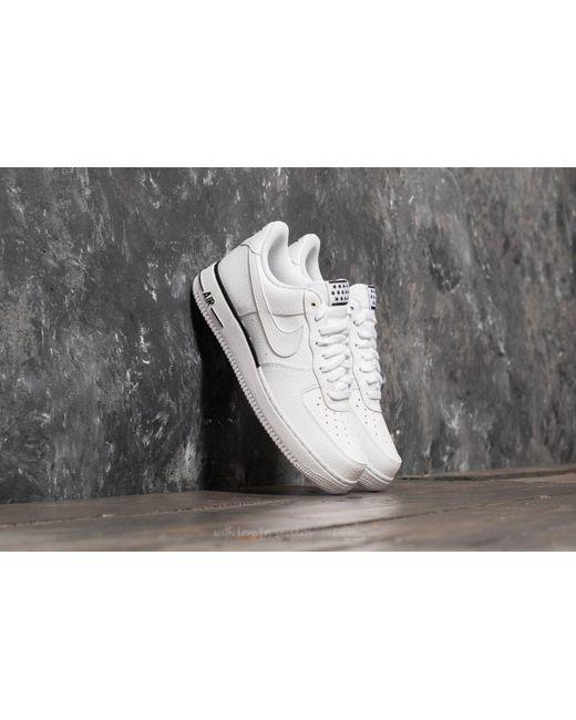 Lyst Nike Air Force 1 '07 White/ White black in White for Men