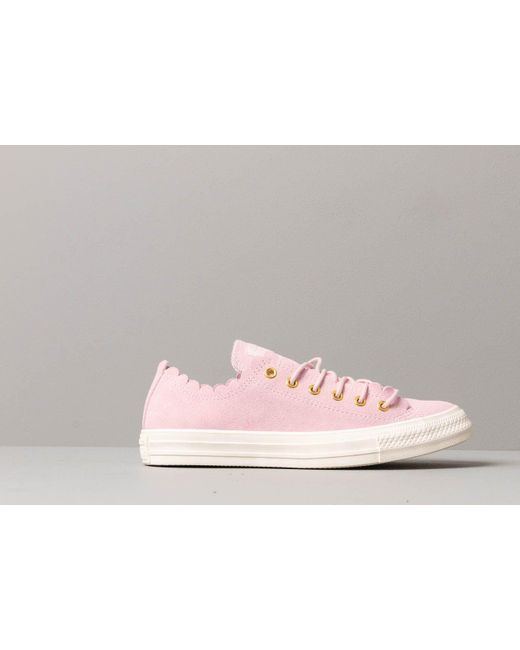 Converse Canvas Chuck Taylor All Star Scallop Blush in Pink