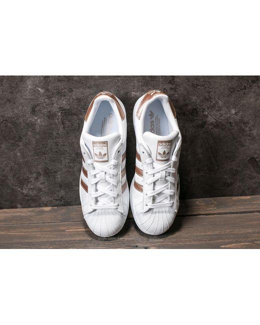superstars adidas footwear white cyber