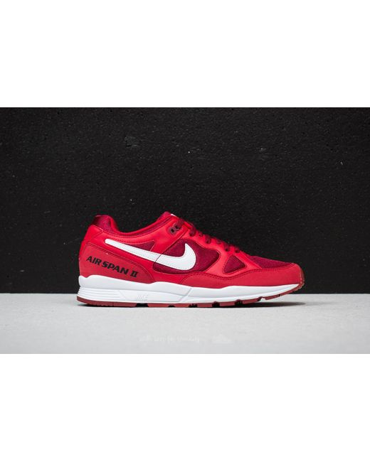 Nike Air Span II Gym rouge/ blanc-Team rouge-Black