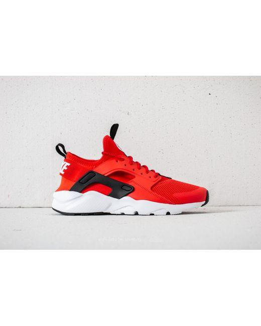 ... Nike - Air Huarache Run Ultra Gs Habanero Red/ White-white-black for ...