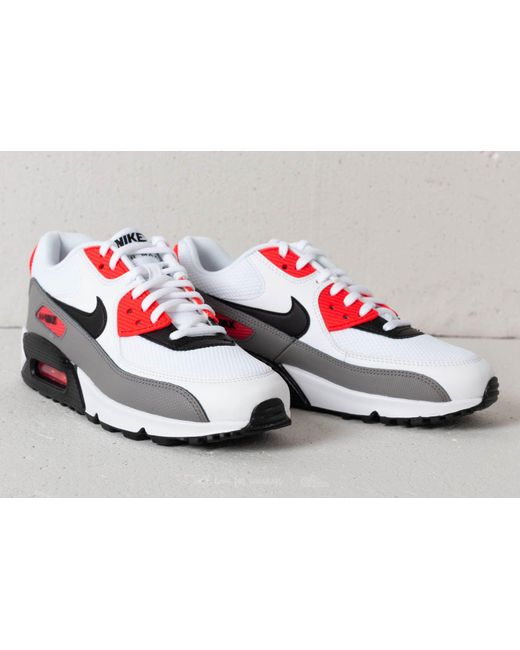 ... Nike - Wmns Air Max 90 White/ Black-dust-solar Red for Men